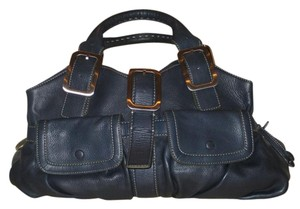 Cole Haan Satchel in Dark Blue
