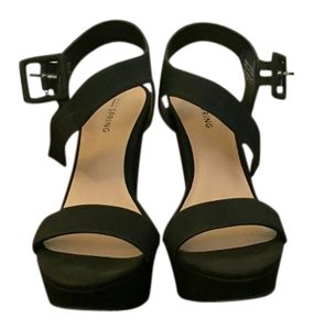 Call It Spring Black Wedges