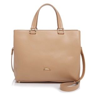 Longchamp Tote in Sandy/nude