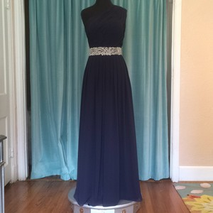 Andrew Adela Midnight Blue Dress