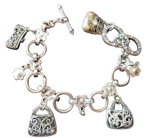 bracelet with bag charms