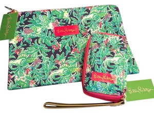 Lilly Pulitzer Carded ID Wristlet & Pick Me Up Pouch