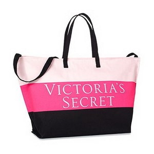 Victoria's Secret Limited Edition Lightweight Stripe Getaway Travel Tote