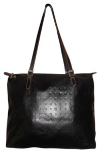 Arcadia Leather Tote in Black