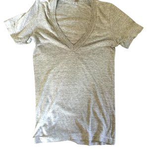 American Apparel Cotton Comfortable T Shirt Gray
