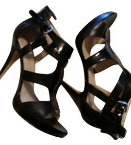 Nine West black Platforms