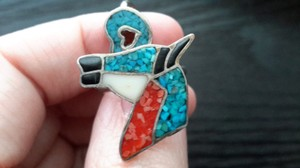 Other Vintage southwestern Turquoise and coral rings