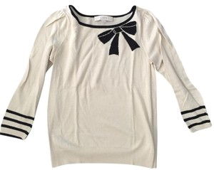 Ann Taylor LOFT Bow Casual Holiday Preppy Sweater