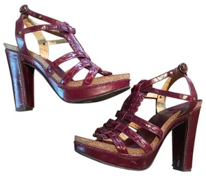 Frye Maroon/burgandy color Platforms