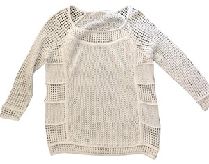 Rachel Roy 3/4 Sleeve Crochet Knit Sweater