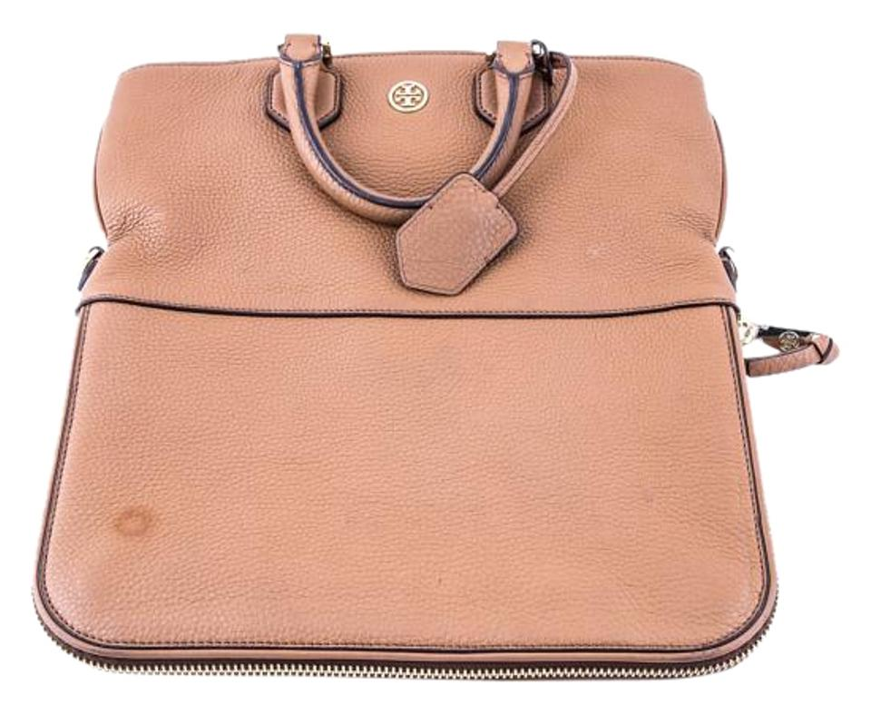 1015bf36b20 Tory Burch Robinson   Pebbled Fold-over Messenger Bag - Tradesy
