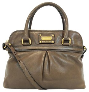 Marc Jacobs Mushroom Convertible Antique Gold Satchel in Brown