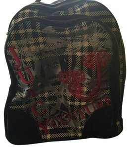 Juicy Couture Rocker Chain Checkered Retro Backpack