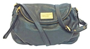 Marc Jacobs Leather Antique Flap Cross Body Bag
