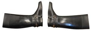Jimmy Choo Riding Rain Elliott Consignment Designer Consignment Black Boots