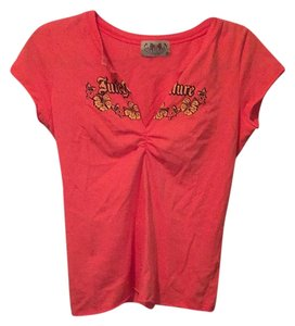 Juicy Couture T Shirt Coral/orange