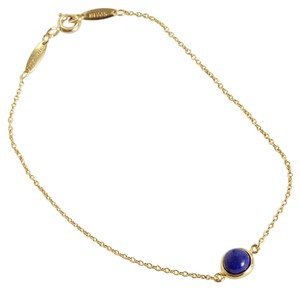 Tiffany & Co. RDC7464 Tiffany & Co. Elsa Peretti 18k Gold and Lapis Bracelet