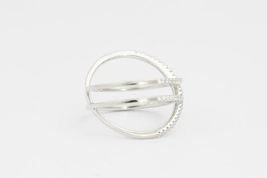Other Pave Crisscross Statement Ring, Crisscross Statement Ring,