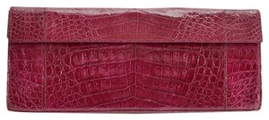 Nancy Gonzalez Plum Clutch