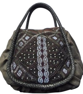 Isabella Fiore Beaded Hobo Bag