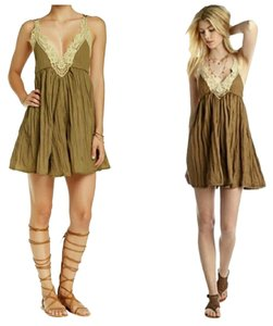 Free People Summer Boho Mini Dress