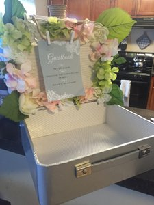 Guestbook Suitcase