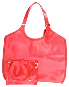 Louis Vuitton Beach Tote in Red