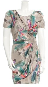 Matthew Williamson short dress Champagne and multicolor on Tradesy