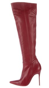Christian Louboutin Pointed Toe Over The Knee So Kate Pigalle Amura Red Boots