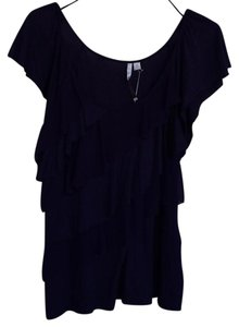 LC Lauren Conrad Top Eggplant purple