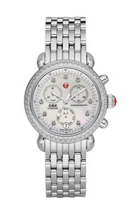 Michele NEW CSX-36 Diamond Dial Stainless Steel MWW03M000114 Ladies Watch