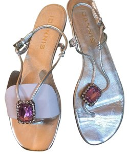 Ioannis Silver Sandals