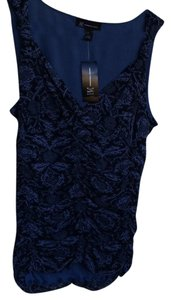 INC International Concepts Top Black and blue