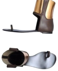 Vicini Brown and copper Sandals