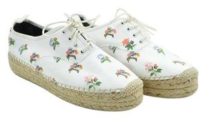 Saint Laurent Ysl Sneakers White and Multi-color Platforms