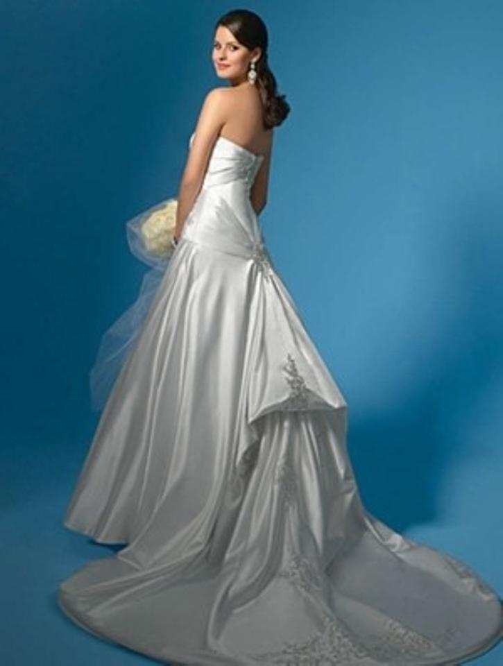 Alfred Angelo Pearl Satin 2003 Formal Wedding Dress Size 20 (Plus 1x ...