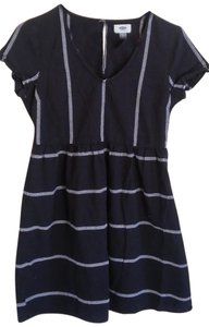 Old Navy short dress Black with cream embelishments on Tradesy