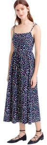 multi-color/navy Maxi Dress by J.Crew