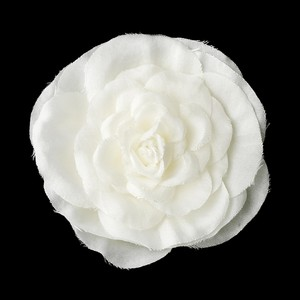 Elegant Petite Ranunculus Flower Wedding Bridal Hair Clip