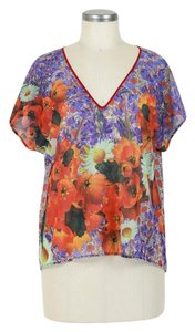 Anthropologie T Shirt multi-color