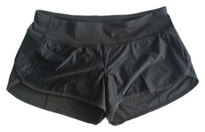 Lululemon NWT Lululemon Women's Speed Shorts Mesh Black Size 8