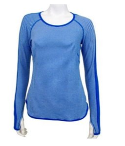 Lululemon Blue Long Sleeve