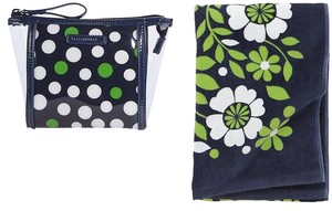 Vera Bradley Set Towel Beach Bag