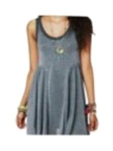 Free People short dress Grey Beach Town on Tradesy