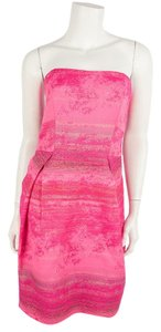 Lela Rose short dress Pink on Tradesy