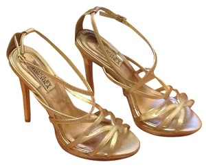 Badgley Mischka Champagne gold Formal