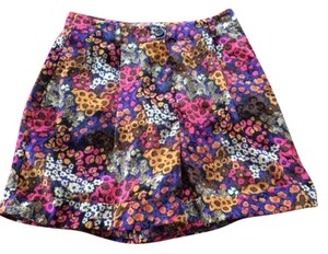 American Apparel Shorts Flowery Pattern