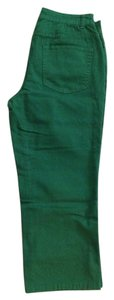 Coldwater Creek Capris green