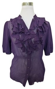 Saks Fifth Avenue Top Purple