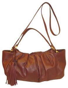 Alfani Refurbished Leather Cross Body Bag